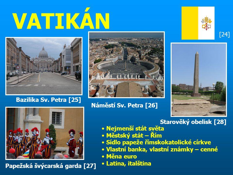 VATIKÁN [24] Bazilika Sv. Petra [25] Náměstí Sv. Petra [26]